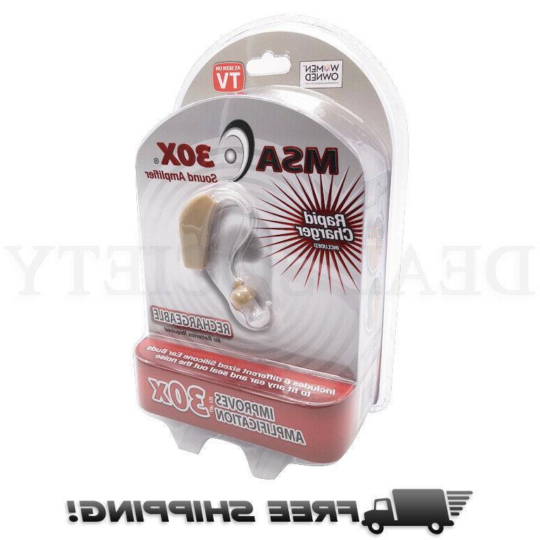 msa30x sound amplifier ear aid