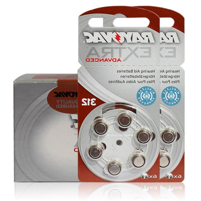 New 60 Rayovac Extra 1.4V <font><b>Aid</b></font> Batteries. Zinc <font><b>Hearing</b></font> <font><b>aids</b></font>