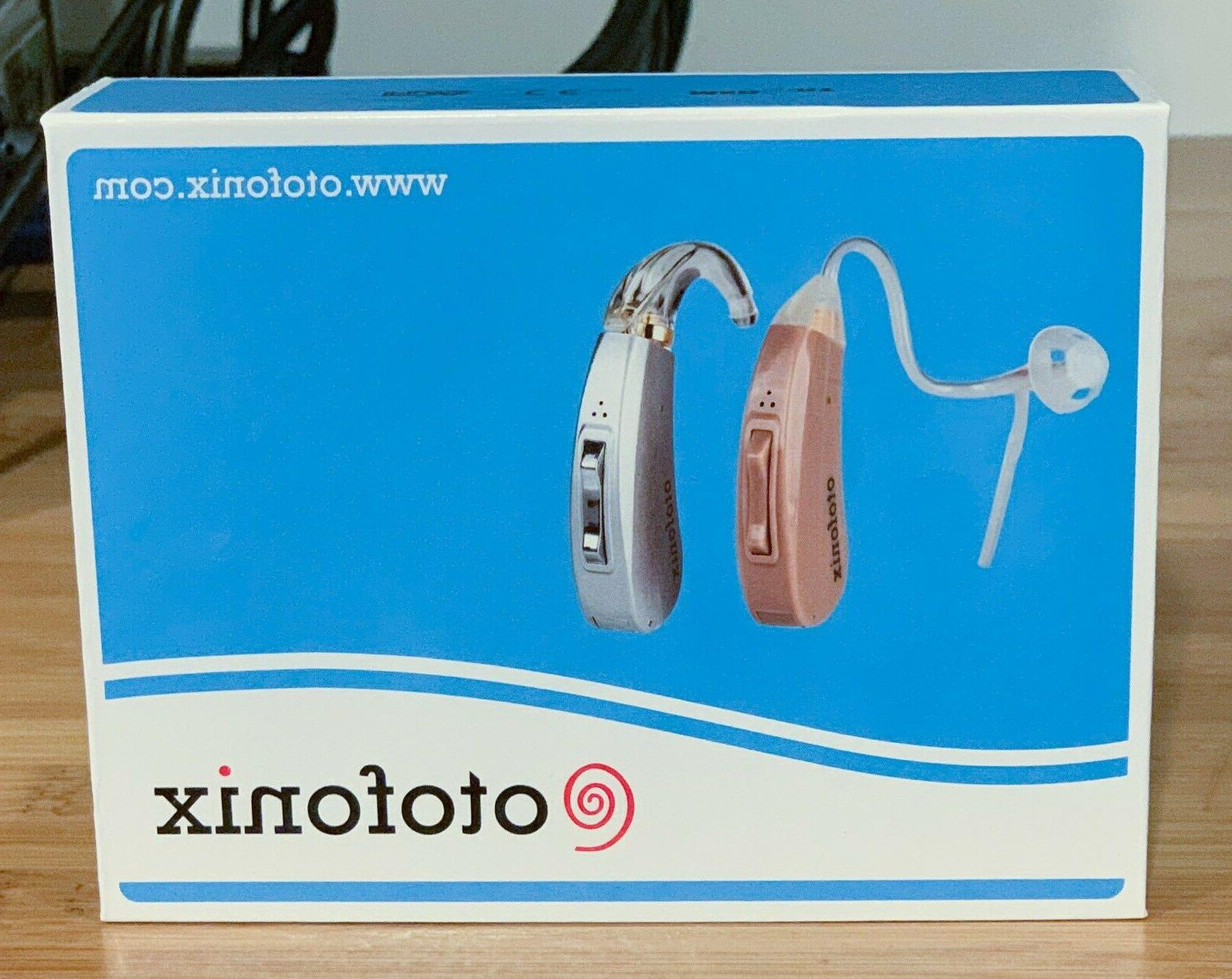 new encore hearing aid amplifier gray or