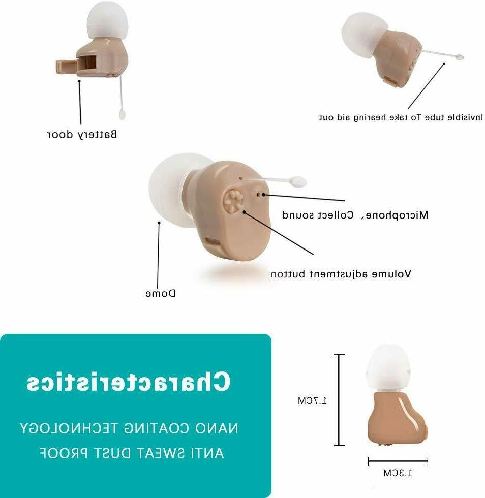 New Hearing Aid ITC Sound Voice Enhancer