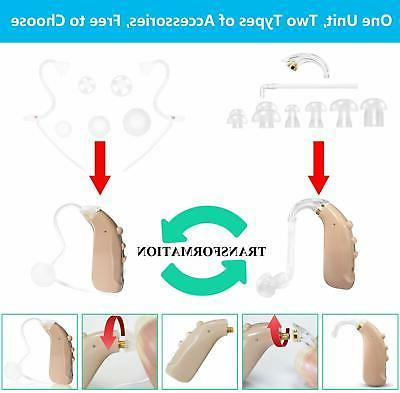 NEW Quality Hearing AID by Banglijian Amplifier Rechargable