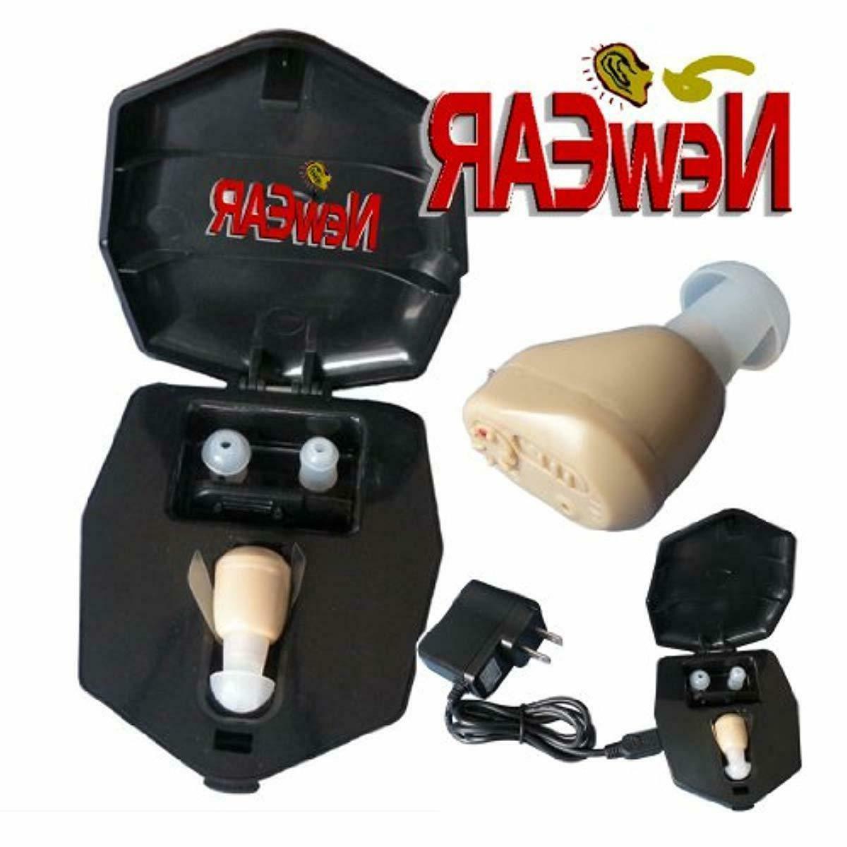 newear ite mini ear amplifier rechargeable microtron