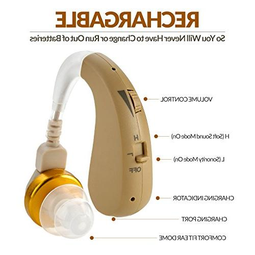 Rechargeable Hearing - Hearing with New Digital - Almost Design with - by NewEar