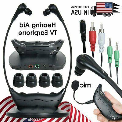original wireless headsets system tv hearing aid