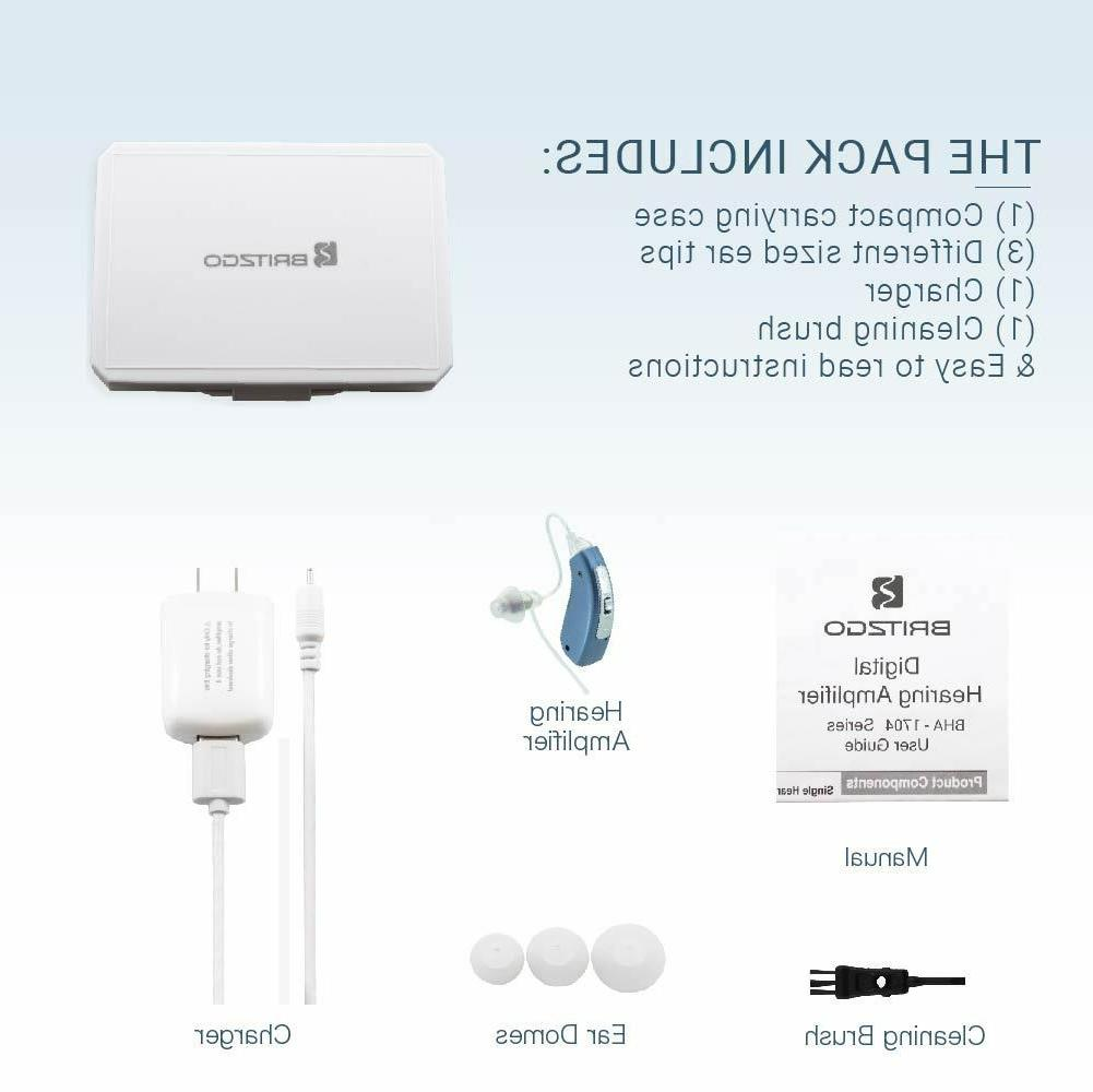 Britzgo Digital Hearing Aid Amplifier The