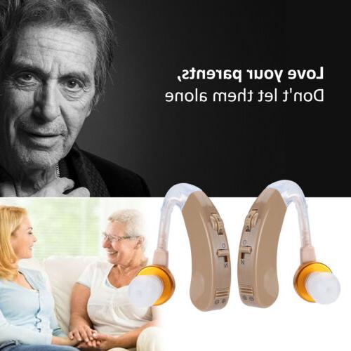 2 Hearing Aids Enhancer Sound Voice