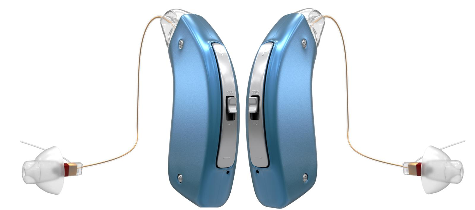 pair rechargeable hearing aid amplifier bha 1704
