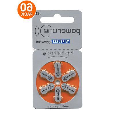 hearing aid batteries pr48 p13 size 13
