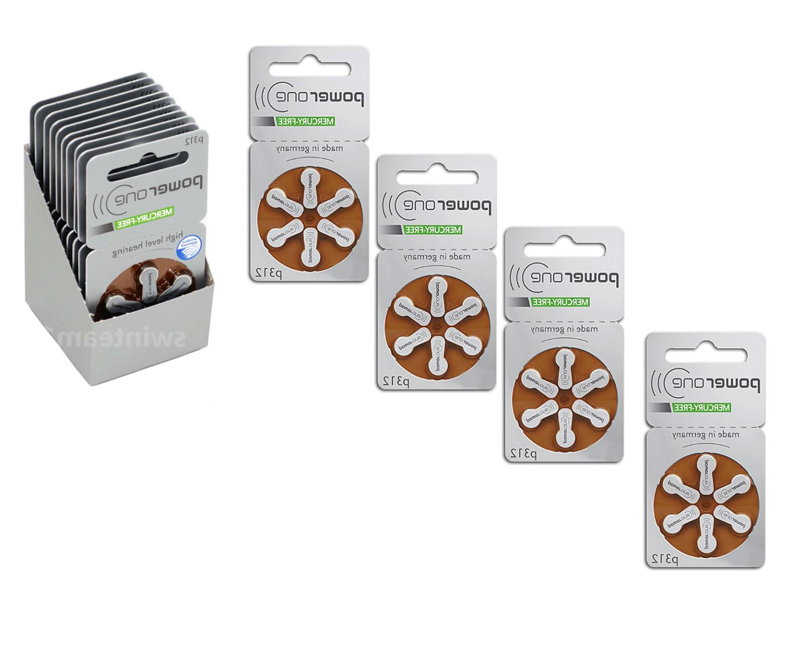 powerone hearing aid size 312 p312 genuine