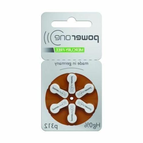Powerone Hearing Genuine Batteries German Lot 30-300- 2023