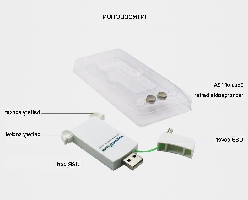 Quality <font><b>aid</b></font> <font><b>Hearing</b></font> with 2pcs 13A portable mini <font><b>charger</b></font>