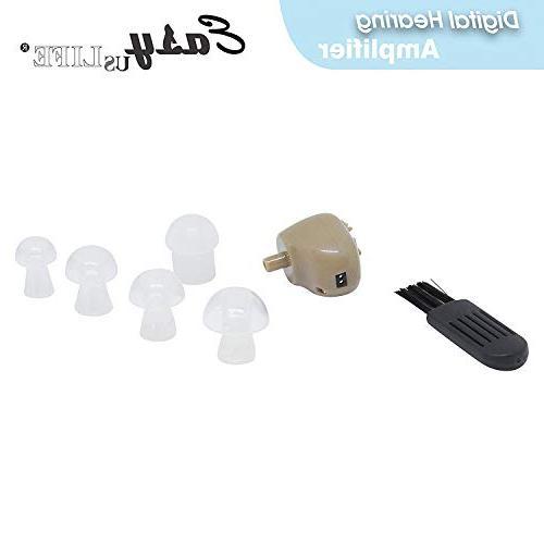 2-Pack, , Digital Ear EASYUSLIFE, Adjustable Control, Suitable for Men
