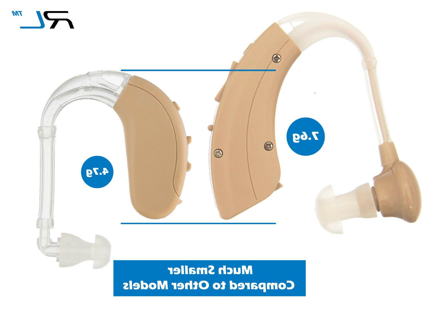 R&L Aid Behind the Ear, and Lightweight, ears