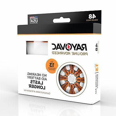 Rayovac Proline Advanced Hearing Aid Batteries Size 13A
