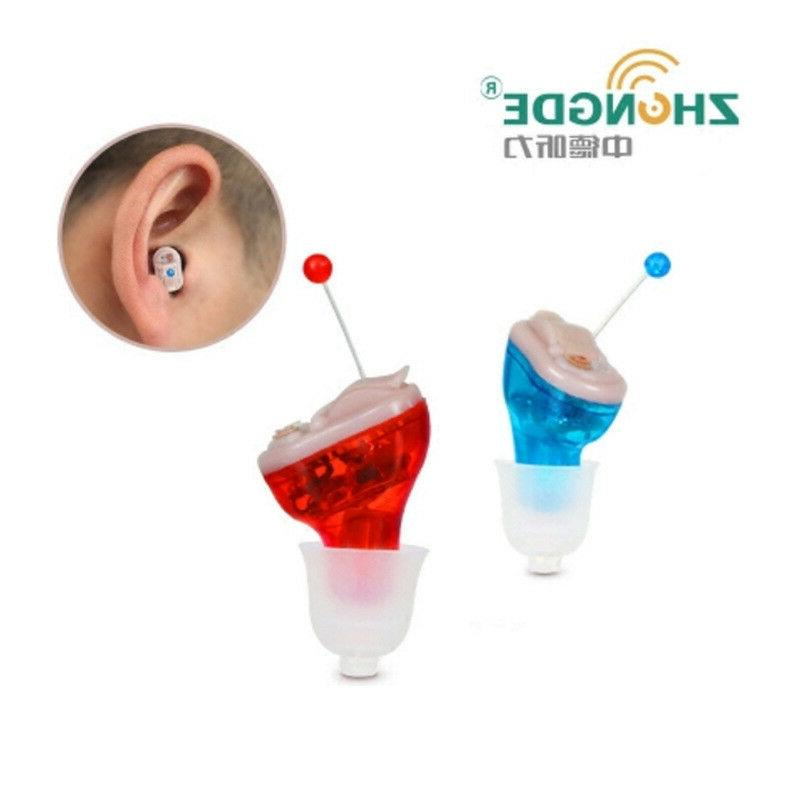 recharge inner ear invisible hearing aid adjustable