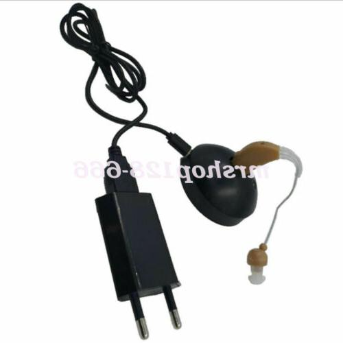 Rechargeable Acousticon Behind Hearing Aids Audiphone Sound Voice