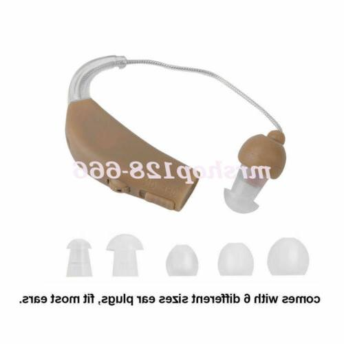 Rechargeable Behind Ear Hearing Aids Audiphone Voice