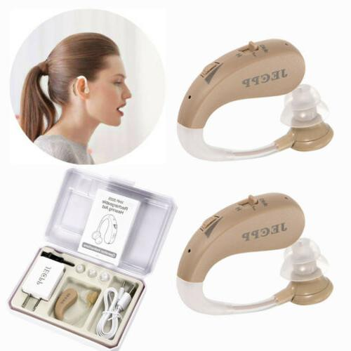 rechargeable digital hearing aid severe loss invisible