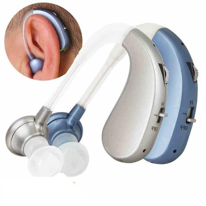 New Rechargeable Hearing Aid Severe Loss Ear