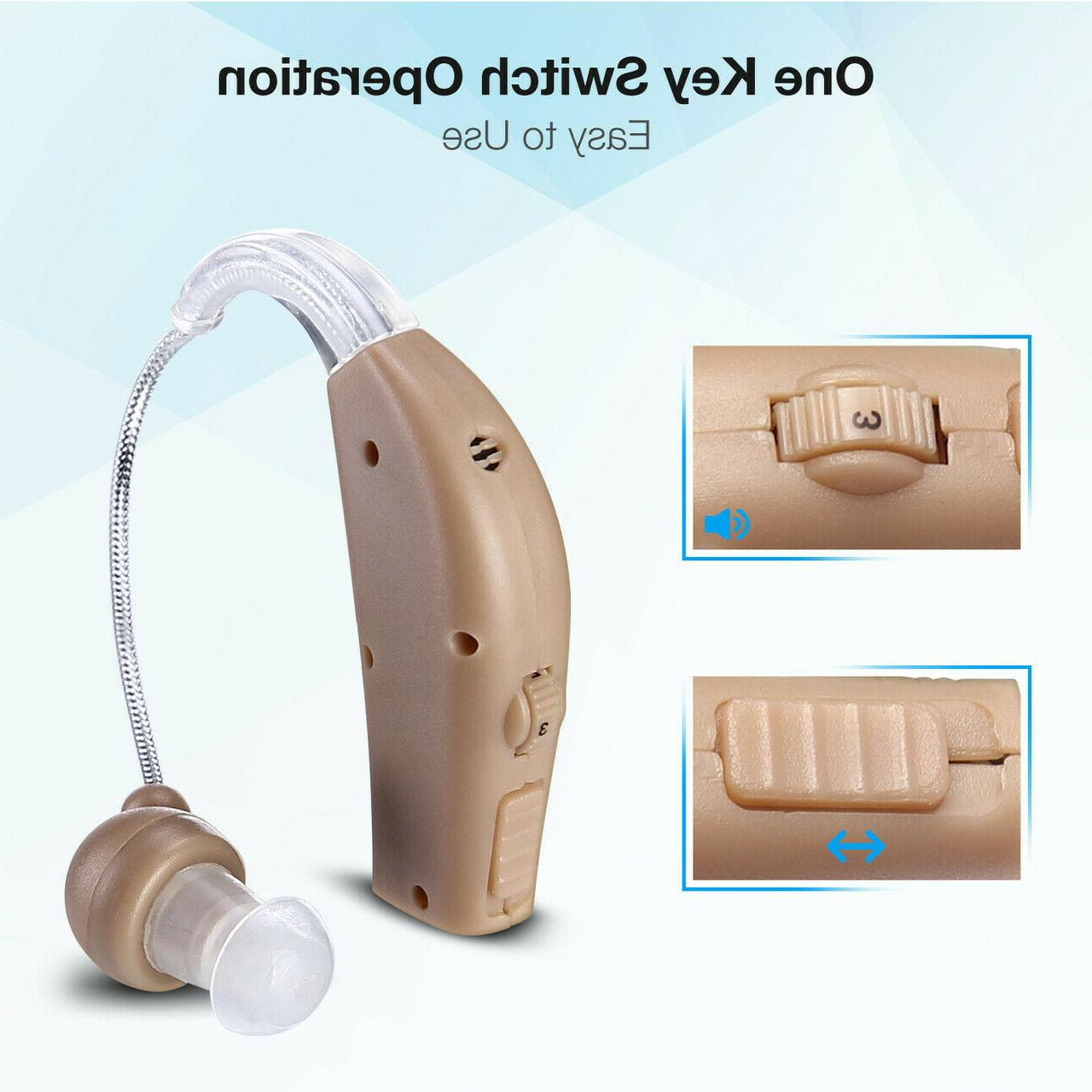 Rechargeable Behind Ear Sound