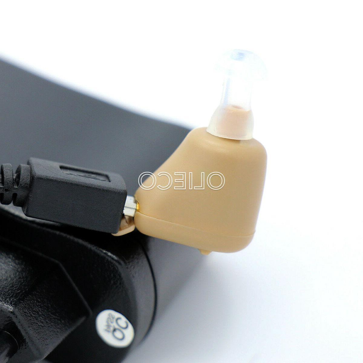 Rechargeable Digital Hearing Aid Mini In Ear Amplifier