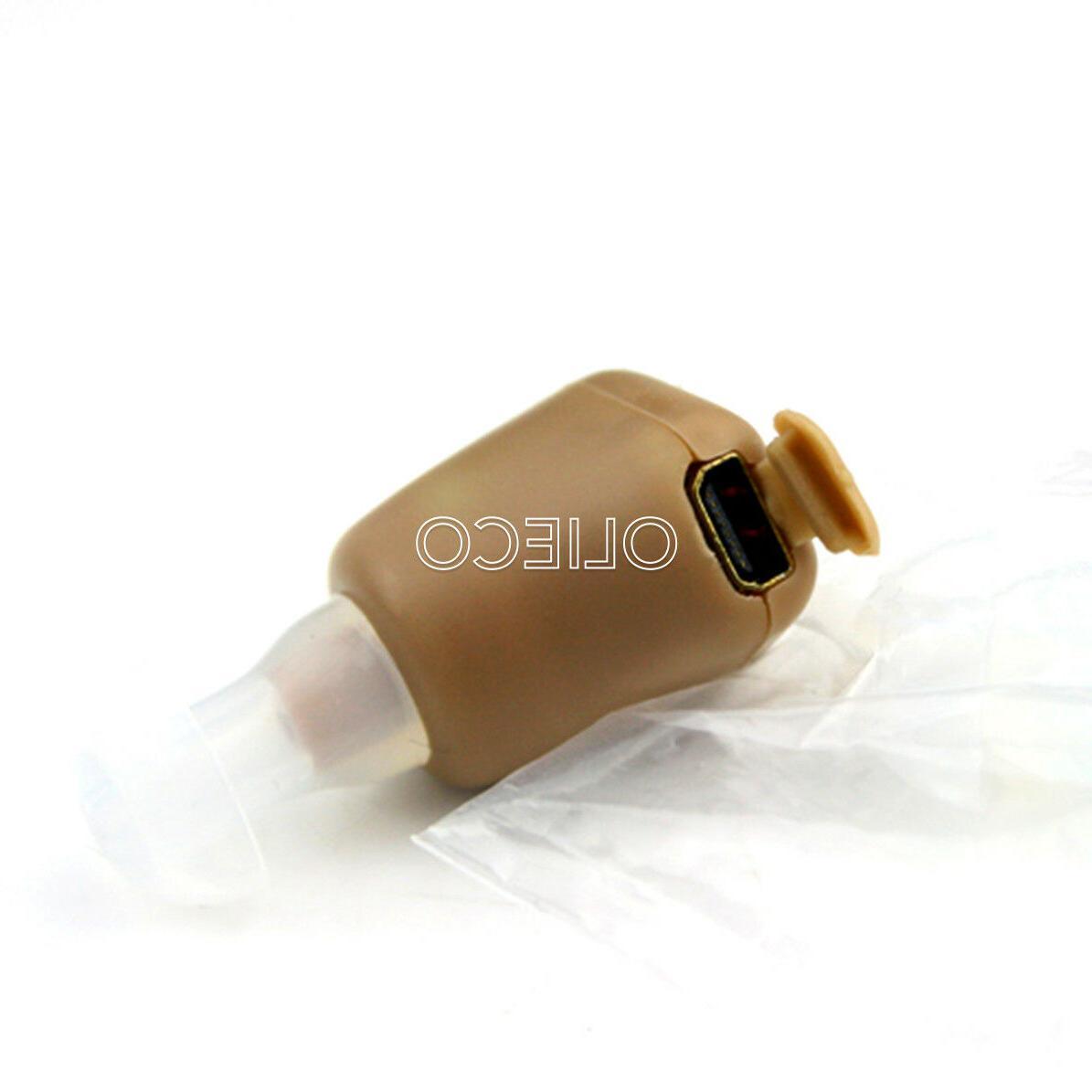 Rechargeable Digital Amplifier Aid Ear