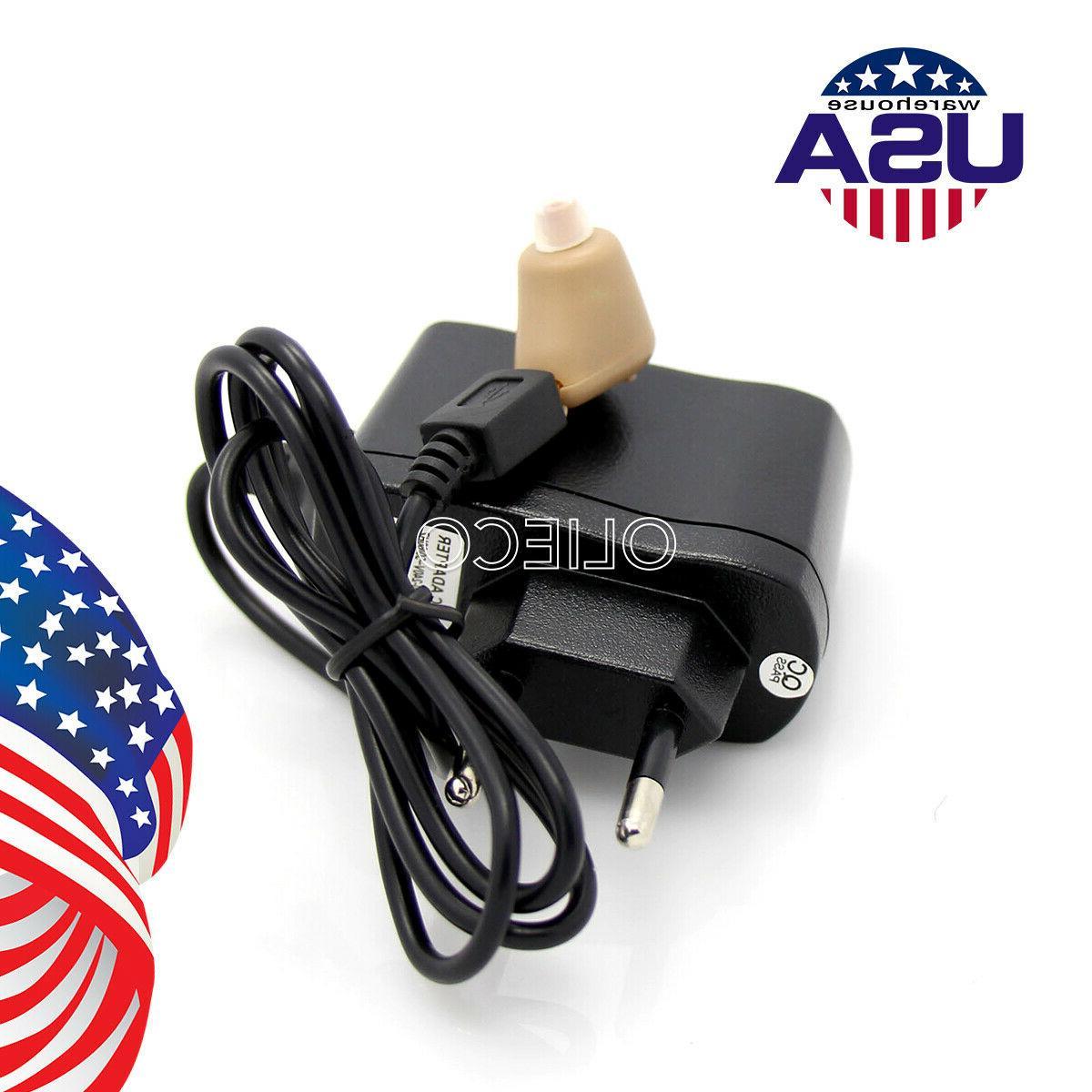 Rechargeable Aid Adjustable Mini Ear Amplifier