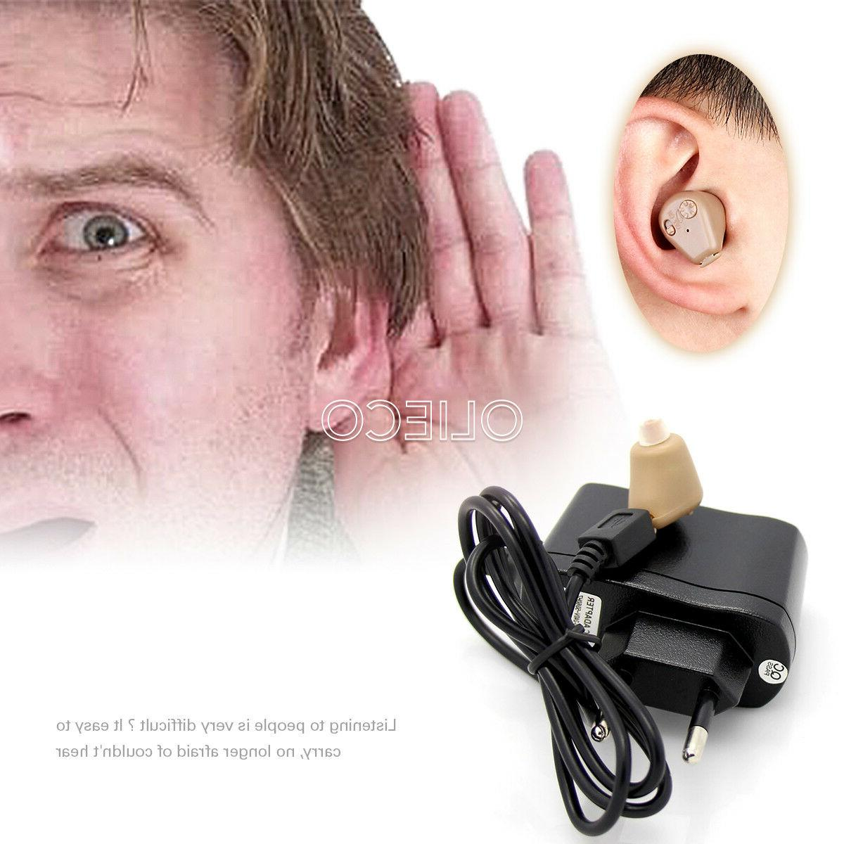 Rechargeable Digital Hearing Aid Ear