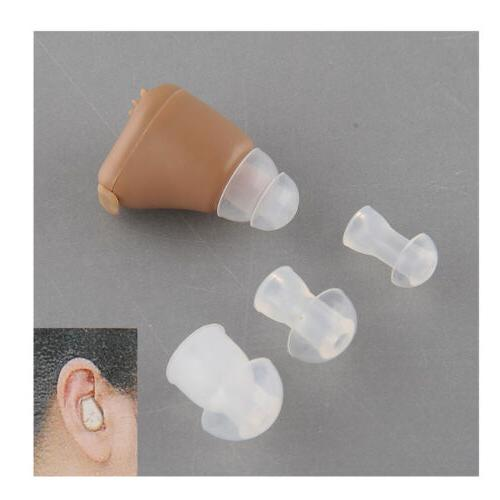 HOT US Plug Rechargeable acousticon In Ear Hearing Aid deaf-