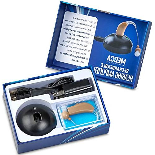 MEDca Rechargeable Hearing Amplifier