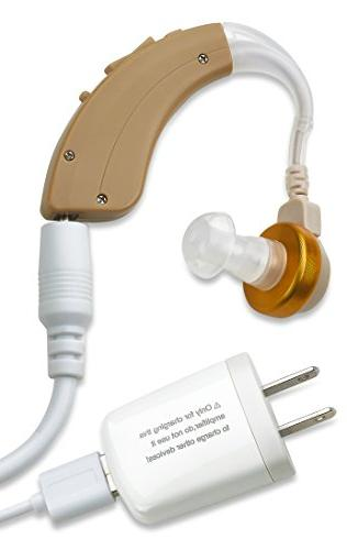 NewEar Behind The Ear Sound Amplifier - Rechargable BTE Hear