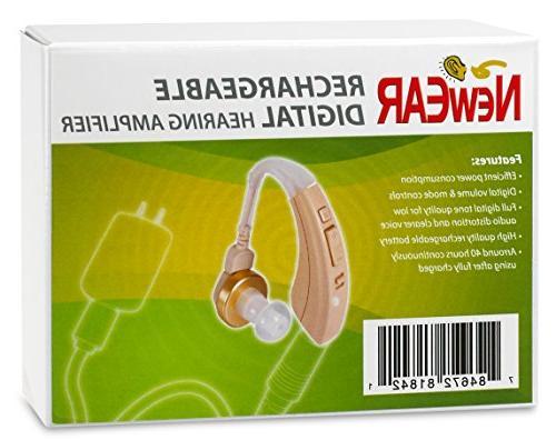 Rechargeable Digital Hearing FDA