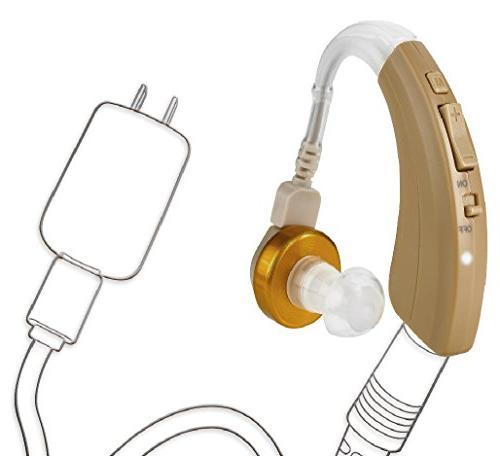 rechargeable ear hearing amplifier fda