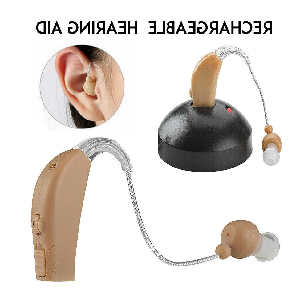 Rechargeable Acousticon Hearing Voice Audiphone Ear
