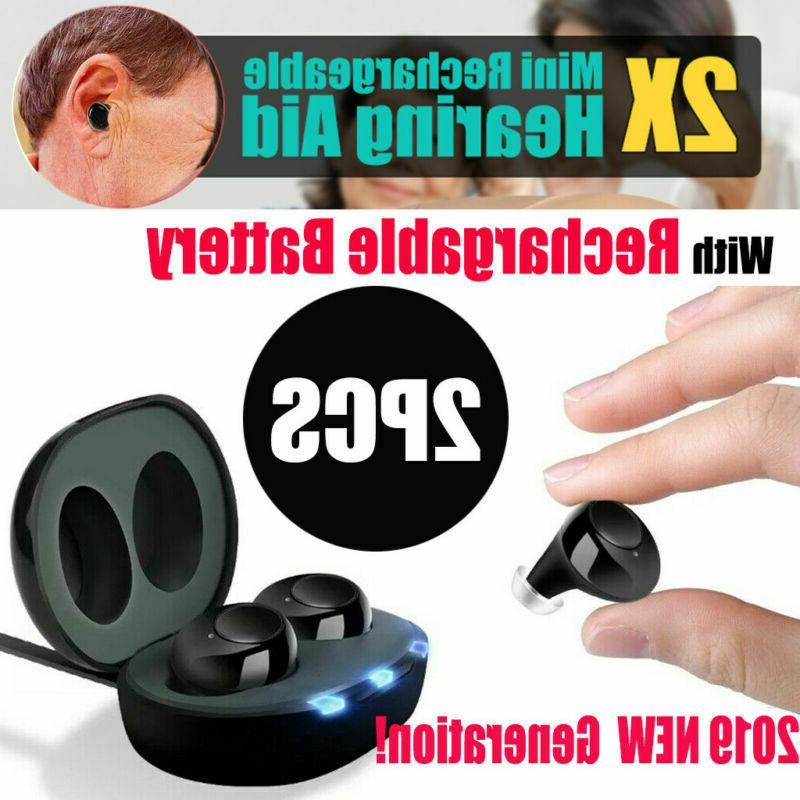 rechargeable hearing aids in the ear amplifier