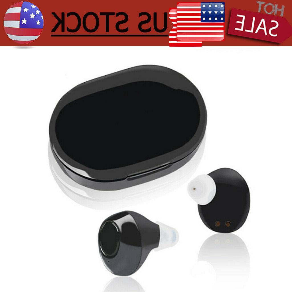 1Pair Digital Ear Hearing Enhancer Sound Voice
