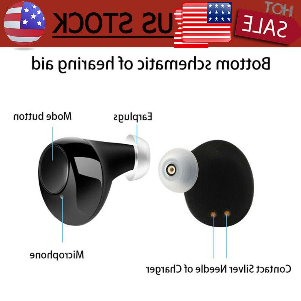 1Pair Rechargeable Ear