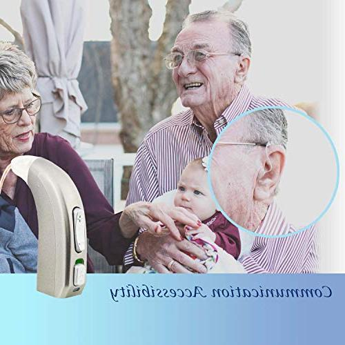 Rechargeable Hearing Amplifier Devices for Seniors, Digital Noise Feedback Cancellation FDA Approved, Design