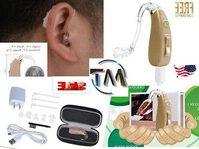 rechargeable hearing amplifier high quality digital bte