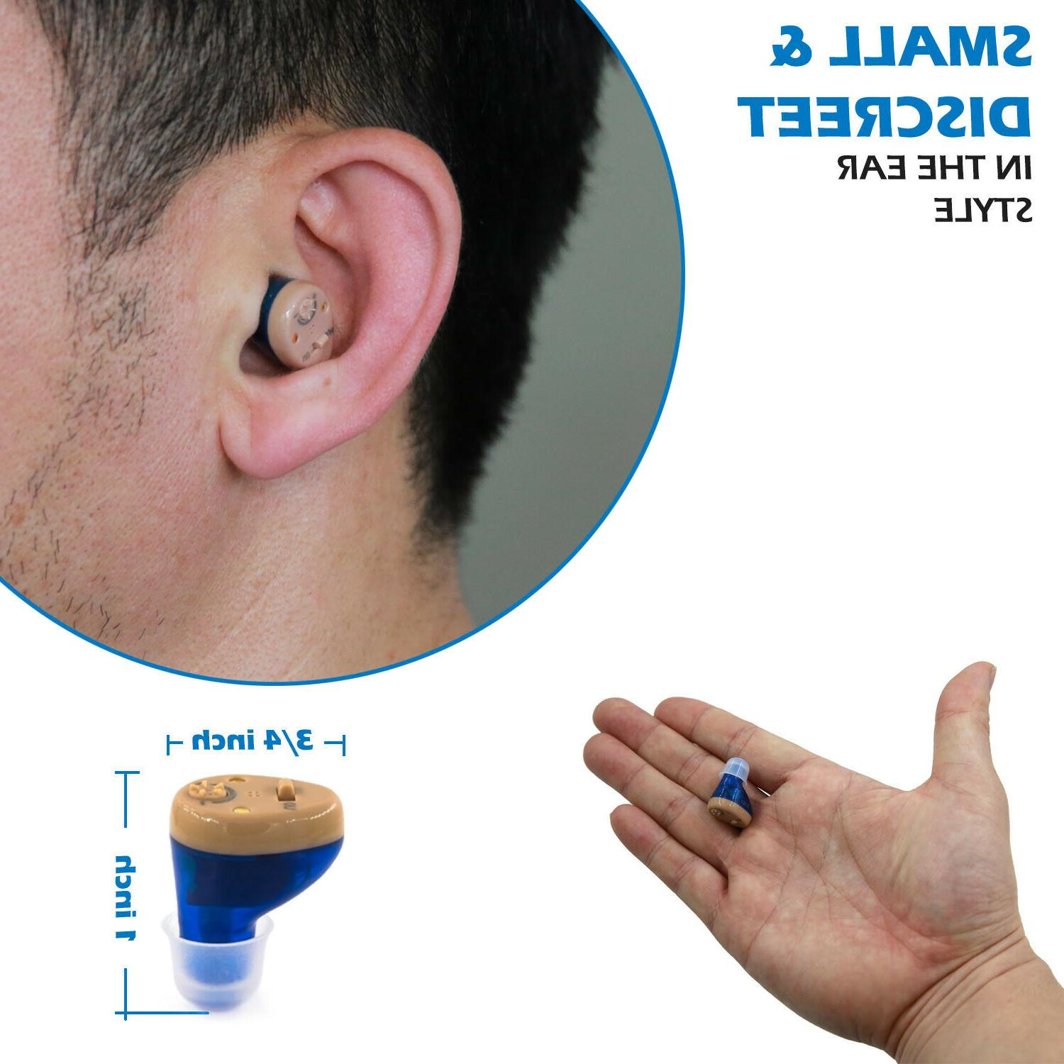 Rechargeable Hearing for -