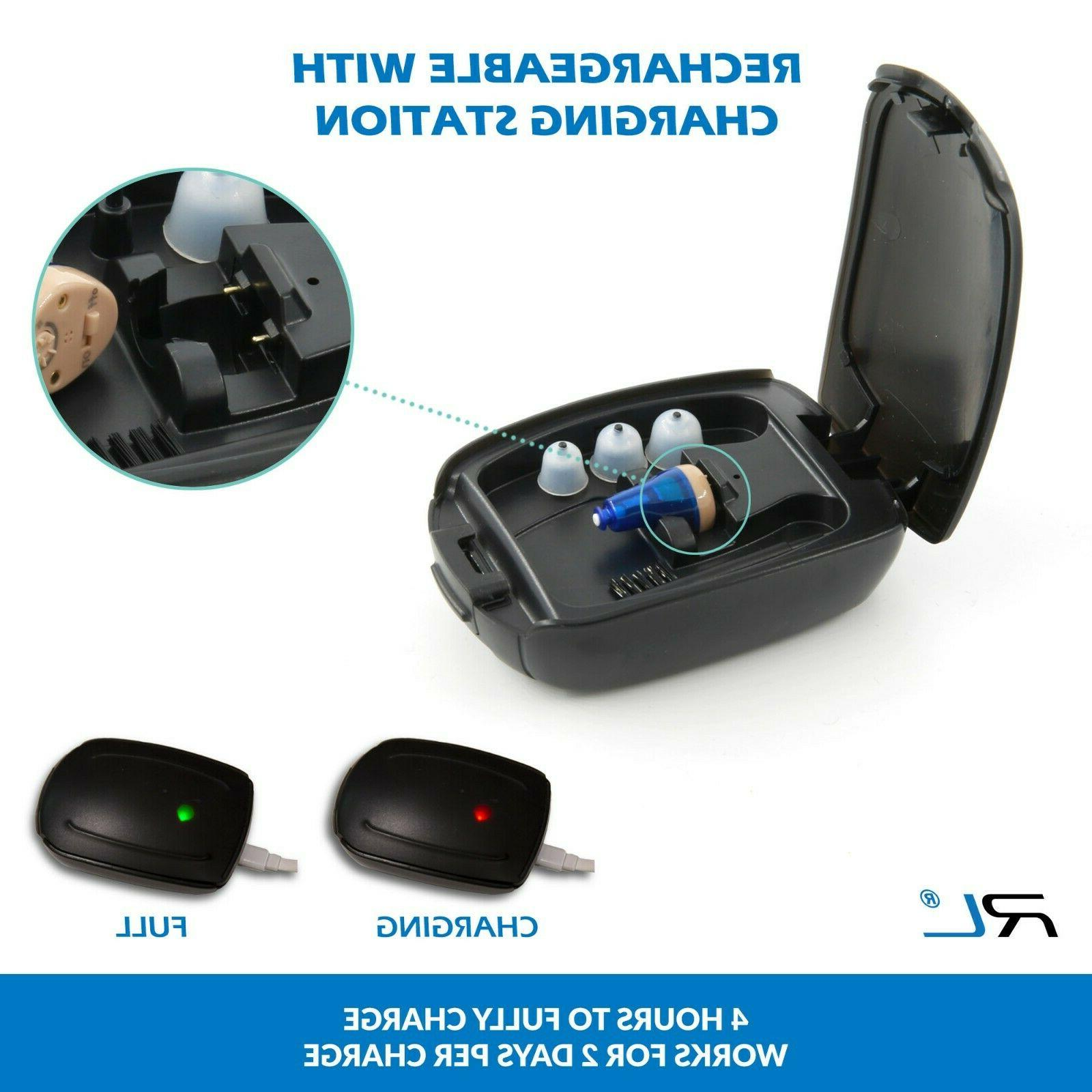 Rechargeable In Hearing C100, for and Seniors -
