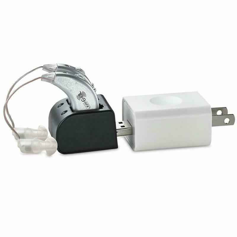Rechargeable Digital Hearing Aids Ear Value Usb