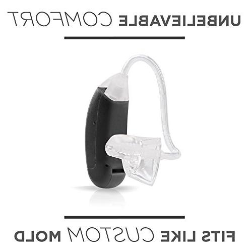LifeEar Ear Hearing Amplifier Doctor and Designed Volume Control, Graphite