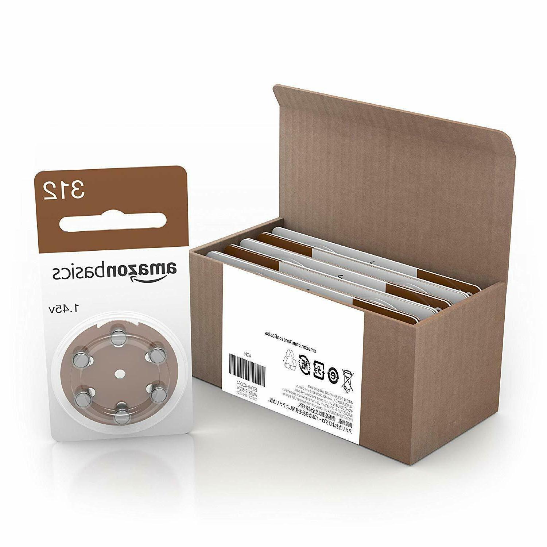 AmazonBasics Size 312 Hearing