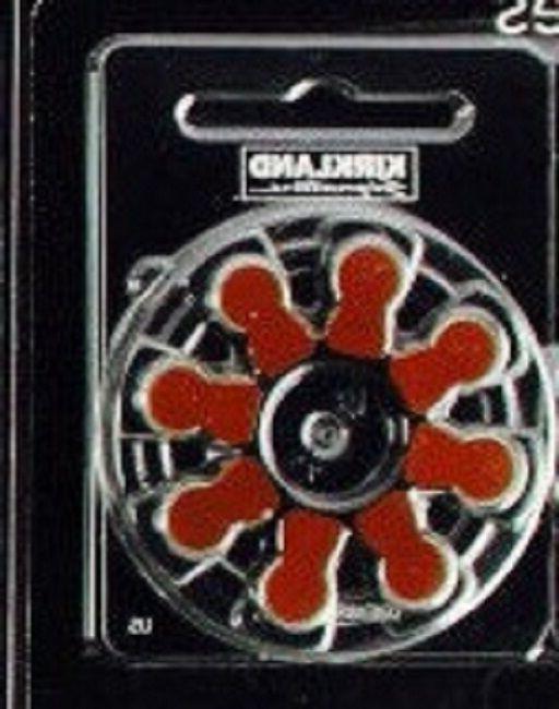 size 312 hearing aid batteries kirkland zinc