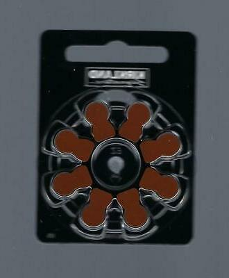 size 312 hearing aid batteries zinc air