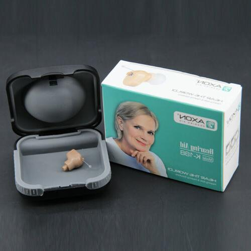New in Ear Mini Hearing Aid invisible CIC Digital Sound Ampl