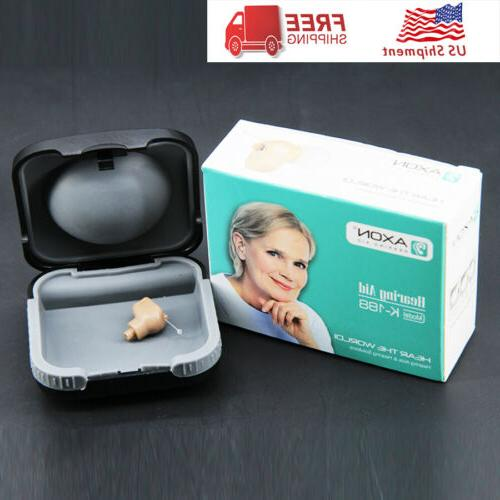 New in Ear Hearing Aid invisible Digital Sound Amplifier