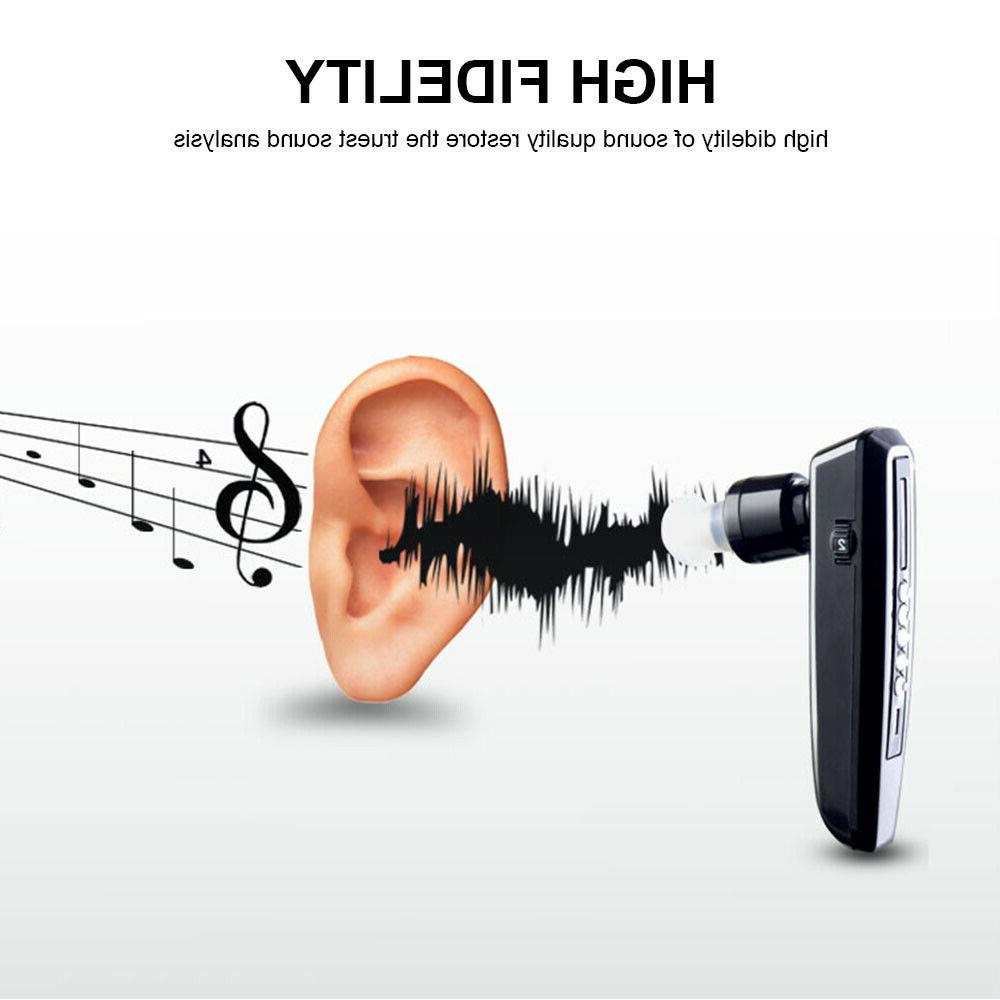 USB Rechargeable Hearing BTE Amplifier headphone style