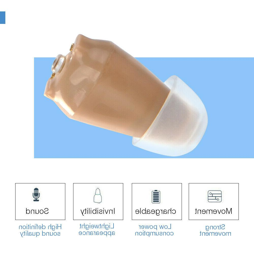 US Hearing Aids Rechargeable Digital Mini Invisible Aid